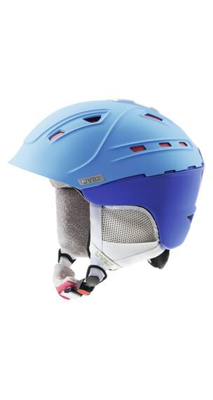 UVEX p2us WL - Casco esquí Mujer - azul
